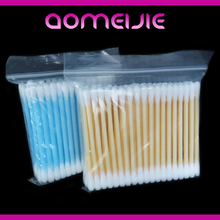 OEM 100 PP Box Cosmetic Cotton Buds & Cotton Swabs