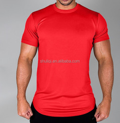 100% High-Grade breathable & crease proof polyester t shirt for out of gym