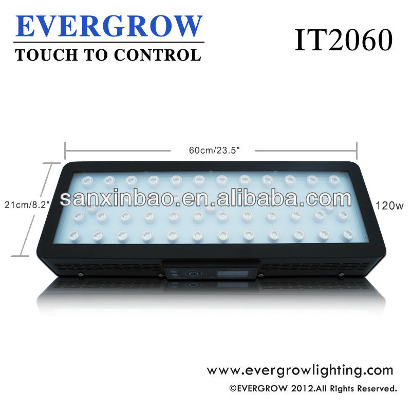 IT2060 Evergrow marine fish tank led aquarium light with timer