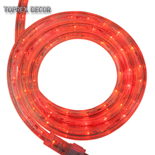 Hiliday Christmas time manufacture 110v 230v waterproof <strong>rgb</strong> led rope light plug