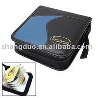 Factory Low Price Custom PU Leather DVD/CD Holder