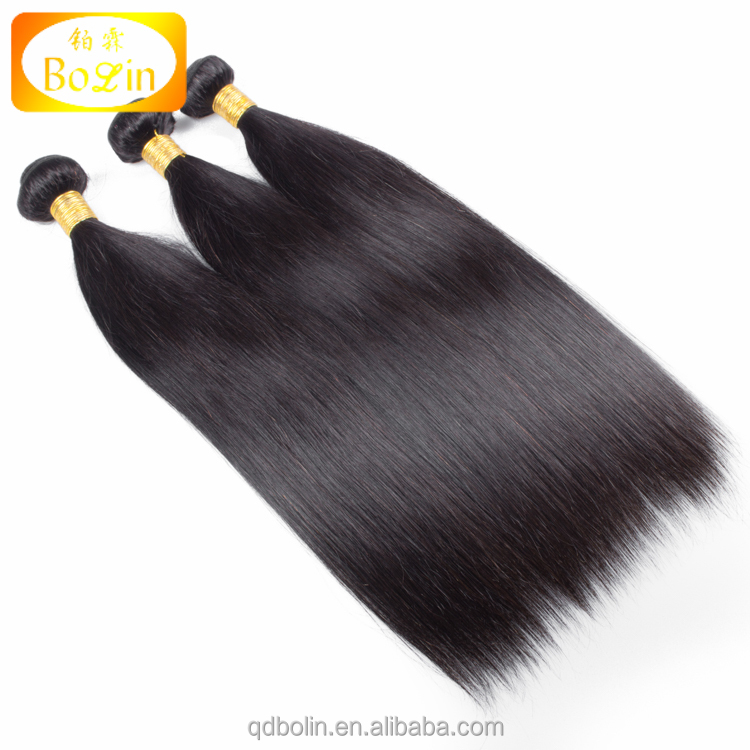 Hot sale straight 100% virgin real malaysian hair extension,pure malaysian hair product