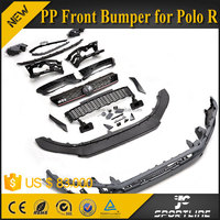 JC Sportline PP Front Bumper for VW POLO R GTR R 2011 2012 2013 2014 2015