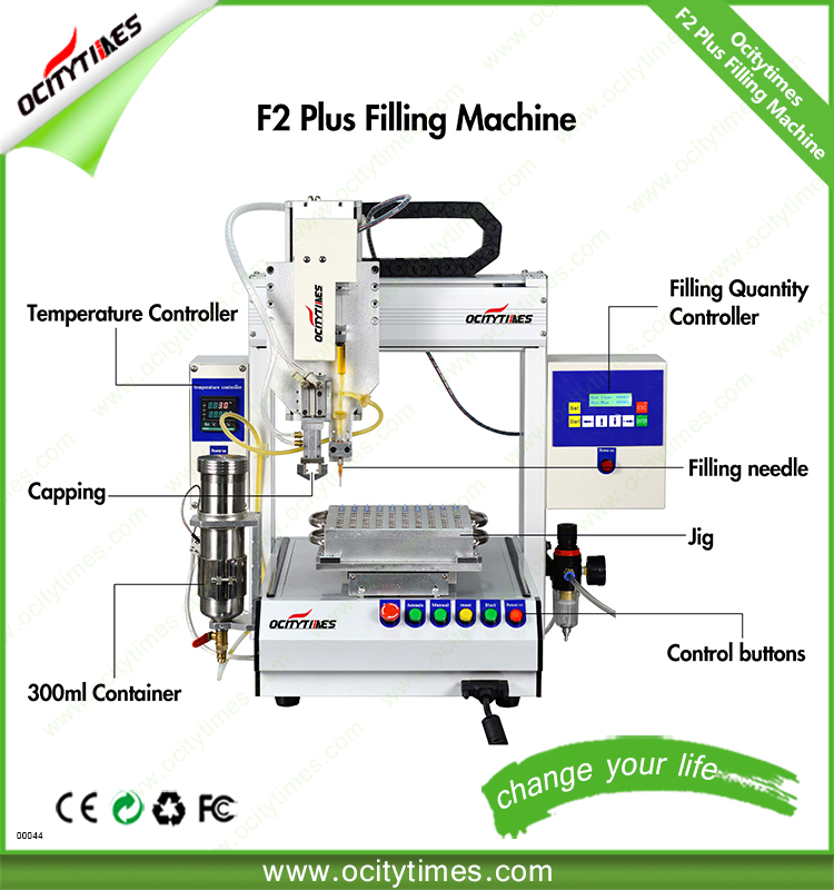 automatic filling cigarettes machine oil filling robot for disposable glass vape tank,cbd hemp oil pen