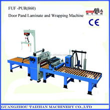 Gyspsum board hotmelt glue laminating and profile wrapping production line