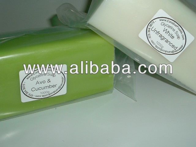 Opaque (WHITE or COLORED) - Handmade Glycerine (Melt & Pour) Soap - 1kg Bars