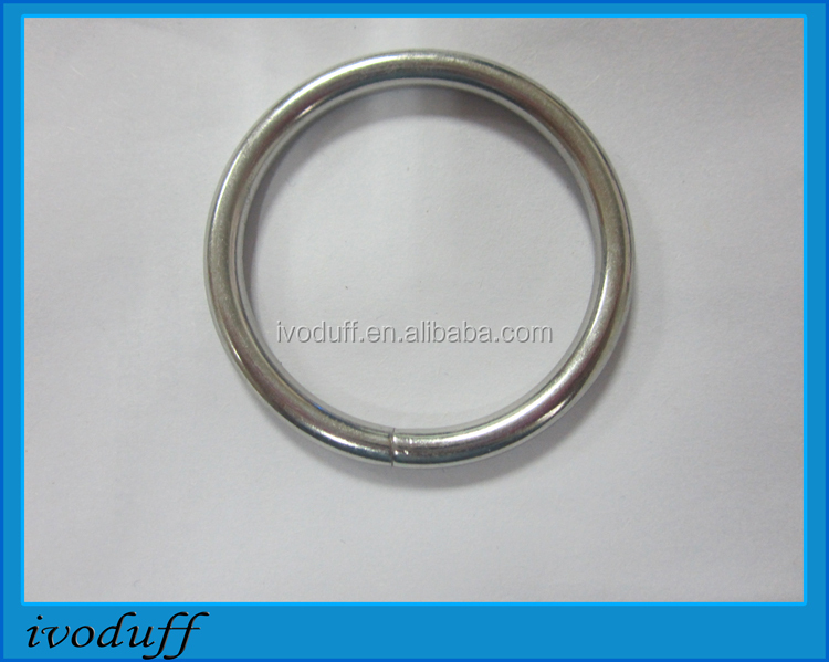 Wholesale Metal O Ring For Handbag Accessories, Iron O ring
