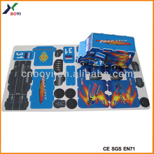 2014 Hot Selling Buildable Toy Parts Cardboard, Buildable Toys