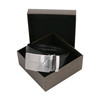 Black High Quality Mens Leather Belts And Buckle gable bag tuck end box