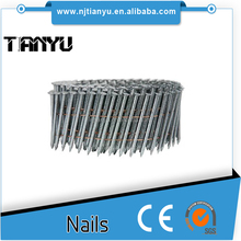 Wire dome head stainless steel coil nails