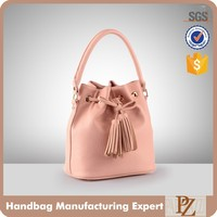 3478-Functional drawstring fringe handbag tassel ladies bags factory in Guangzhou China