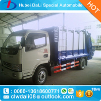 Self-loading garbage compression truck,sanitation equipment,garbage truck with compactor