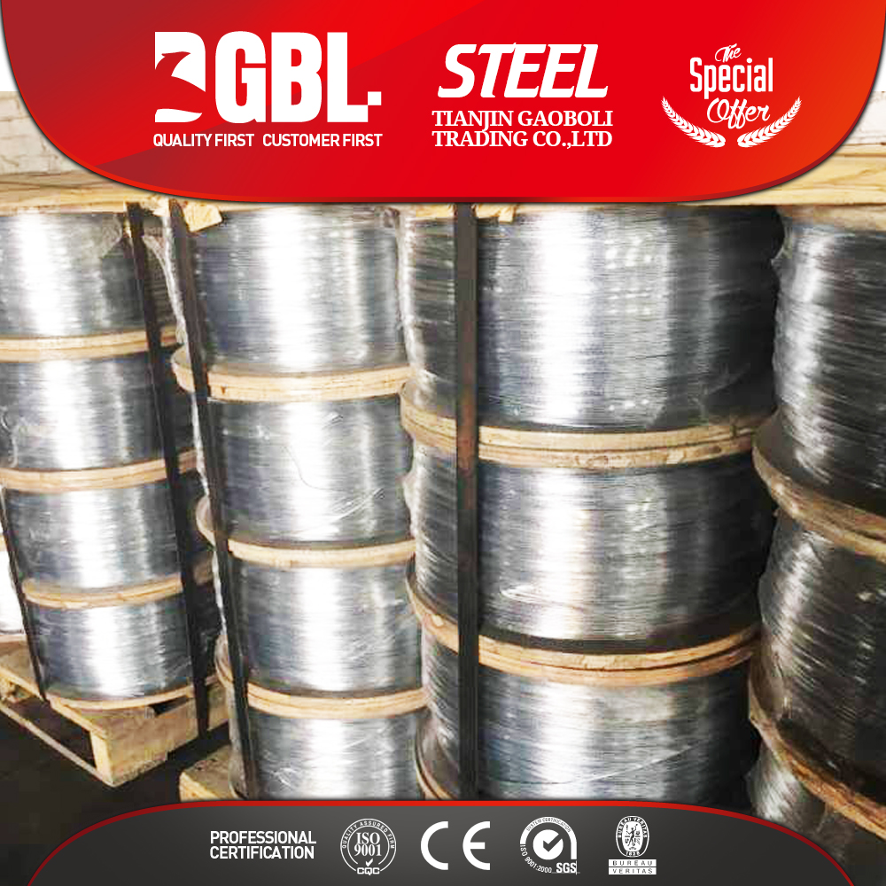 High quality material SAE 1008 steel ms wire rod