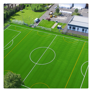 Hot sale mini football field artificial grass with SBR backing