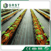 Factory supply 2016 black woven geotextile weed control mat for greenhouse floors /container nurseries
