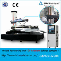 CE&TUV certificated EDM brass wire or USED wire EDM CNC Wire Cut EDM Machine DK77100
