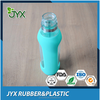 Custom heat resistant silicone rubber bottle sleeve