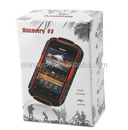Wholesale Unlocked WCDMA 4GB ROM Rugged best 3.5 inch android smartphone V5+ Discovery roof Shockproof 3G Cheap China Phones