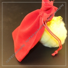 New design jewellery velvet pouch drawstring