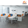 LB-11 Modern white office call center partition desk
