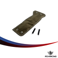 PQY RACING- Turbo Heat Shield / Turbocharger Blanket WRAP + SPRING FOR Suba**(Color: Titanium) WRX PQY2306T