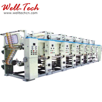 WT-D600-1100 Heat Transfer Paper Coating Two Colors Machine Gravure Printing Machine
