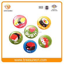 Colorful Lovely DIY Customized Tin Metal Badge/Pin