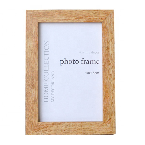 New Arrivals Wooden Photo Frame wedding decoration gifts Wood color picture Frame