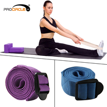 Fitness Equipment Non-toxic Cotton D Ring Yoga Strap