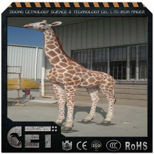 animatronic animals animatronic animal giraffe high simulated giraffe for park
