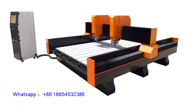 NC-M1325 3D Ston Back wall cnc marble stone engraving machine price