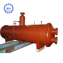 Authorized high pressure vessel for horizontal evaporator