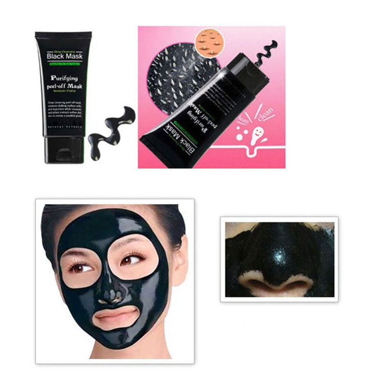 Pore cleaner deep cleansing purifying peel off the black head acne remover mud face mask