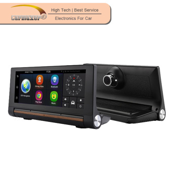 4g 3g android 7inch mirror lcd car dvr