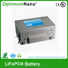 IP67 72v 105ah LiFePO4 electric vehicle battery with smart BMS