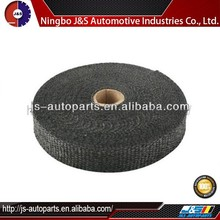 2 X 50' Fiberglass Black Exhaust Header Wrap