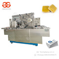 Automatic Medicine Box Cellophane Film Packing Machine for Box
