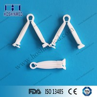 On time fast delivery reliable Nylon umbilical cord clamp for newborn