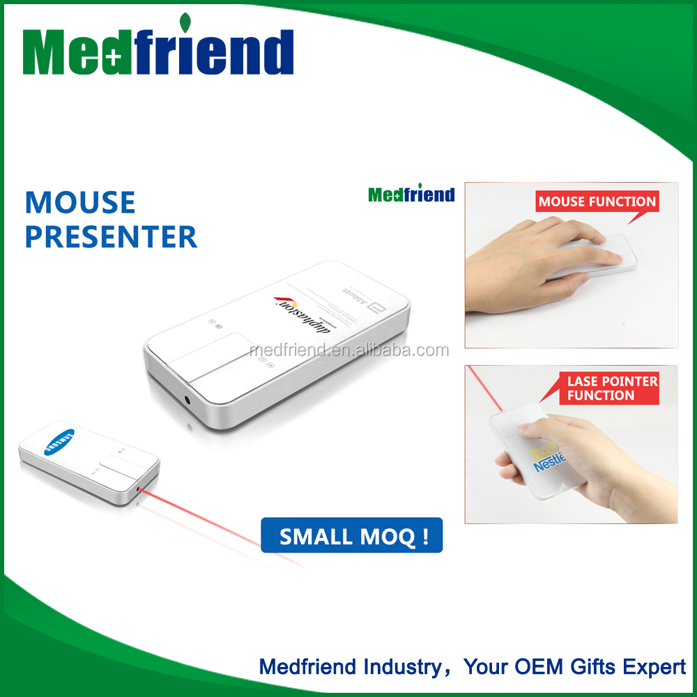 MF1702 Wholesale China Merchandise Wireless Presenter/ Laser Pointer Mouse