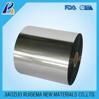 Silver Metalized Pet Film Pet Chinese