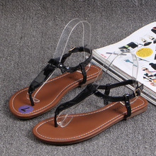 Latest India online footwear women wholesale flat sandals for ladies