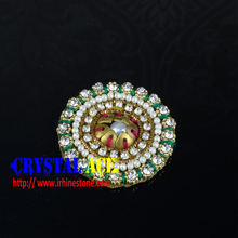 Crystal wedding sash applique, beautiful hot-fix applique for wedding dresses in China