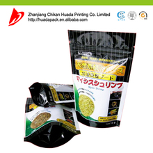 Heat Seal Three Side Seal Snack Plastic Bags Vegetable Chips Crisp Bag