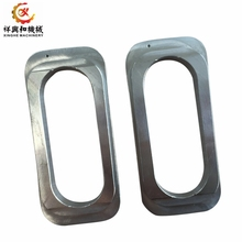 OEM Qingdao supplier high pressure silica sol stainless steel lost wax casting frame with plating