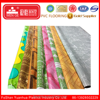 Best selling colourful pvc vinyl flooring