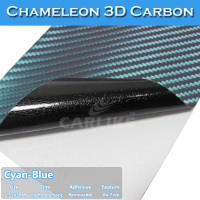 Paypal Payment Removable Chameleon 3D Carbon Fiber Car Emblem