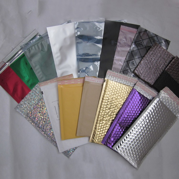 High quality and custom colourful aluminum foil envelopes