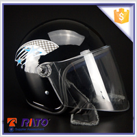 Good perfomance black motorcycle safety helmet price