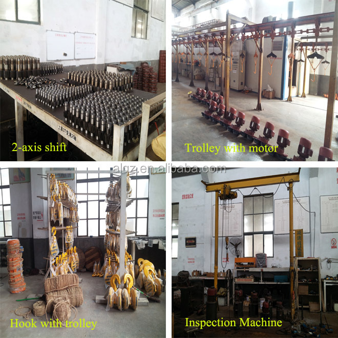 China manufacturer CD 3T*12M small industrial electric hoist
