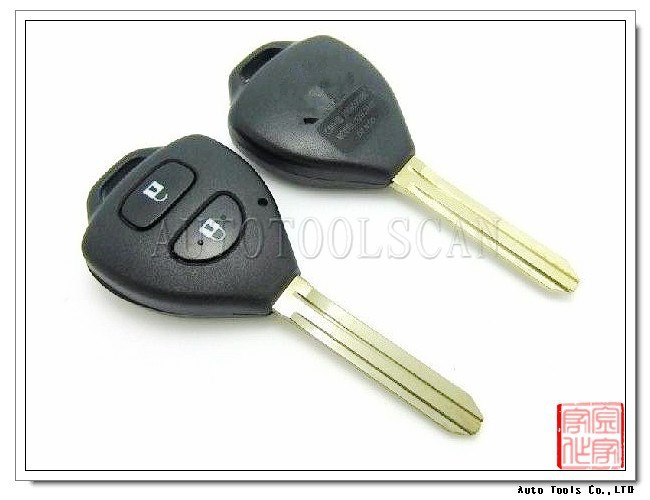 Car key for Toyota Corolla RAV4 2 button Remote Key (315MHz) 4D-67 Chip AK007011